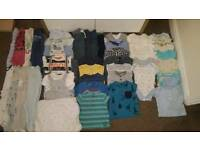 Big Bundle Of baby boy clothes size 3-6 months