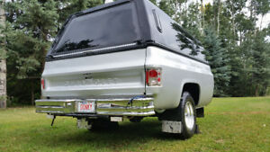 Customized 1/2t Square Box Chevy Camper / Utility Trailer