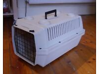 Hard sided large cat carrier - good for small dogs too