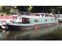 Narrowboat narrow boat 37' cruiser stern 1994
