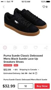Looking for puma suedes or classics size 12-12.5