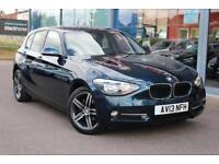 2013 BMW 1 SERIES 118d Sport GBP30 TAX, B TOOTH, DAB and 17andquot; ALLOYS
