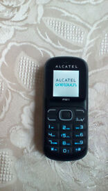 Alcatel Onetouch 217D dual SIM phone