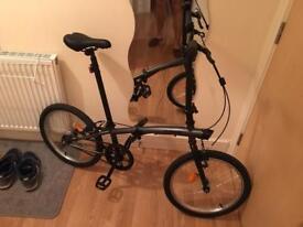 2x Folding Bike B'TWIN Like New!!!