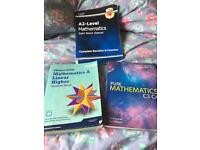 3 A-level Maths books Edexcel for sale  West Midlands