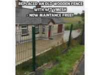 Mesh fence- no more maintence
