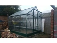 Green House 6 x 8 ft used Rotherham Sheffield