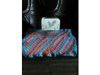 baby crochet blanket with br'er rabbit box