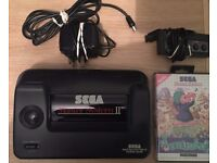SEGA Master System 2 - (Console, Controller, Lemmings Game, Power Cable, TV Cable)