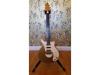 Rare Brian May Signature Guitar Limited Edition - Gold and Cream
