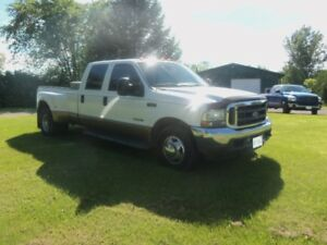 *** 2002 FORD F 350 LARIAT 7.3 DIESEL DUALLY CLEAN! ***