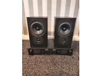 Kef Cresta 10 Speakers & SPL 500 Amp Sound System