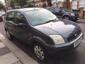 2005 Ford Fusion 1.4, manual, petrol. 10 months mot, 5 drs hatchback