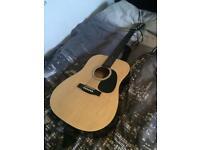 Squier SA-105 Acoustic Guitar (natural)