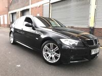 BMW 3 SERIES 2007 2.0 320d M Sport 4 door F/S/H, 2 OWNERS, LEATHER, BARGAIN