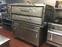 Sale commercial pizza oven tandoori oven display fridge coffe machine