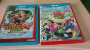 Donkey Kong Country Tropical Freeze & Mario Party 10 sur Wii U