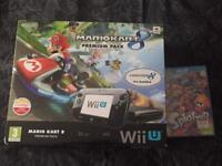 Wii U 32gb premium pack with mario kart 8