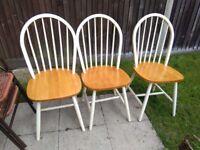 3x Chairs