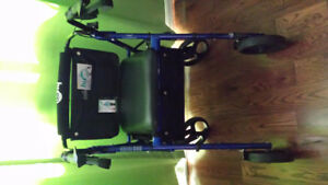 Walker, Collapsible Wheelchair, Bed Tray Table, Potty + Zorbies