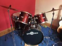 Good condition drum kit, £50