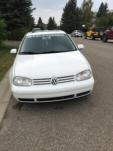 Vw golf 2008 city good condition