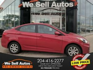 2014 Hyundai Accent GL *LOW KM *A/C *BTOOTH *HTD SEATS *PWR LOCK