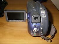 Canon Camcorder DC201 30x optical zoom and 800x digital zoom