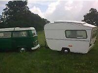 otten classic caravan for restoration