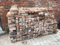 800 Reclaimed Handmade Victorian Bricks