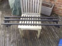 Roof bars, roof rack, 3 piece strong roof bars