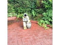 Garden water fountain lovely condition