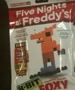 Mcfarlane Five Nights at Freddy's 8-Bit Buildable Figure Foxy
