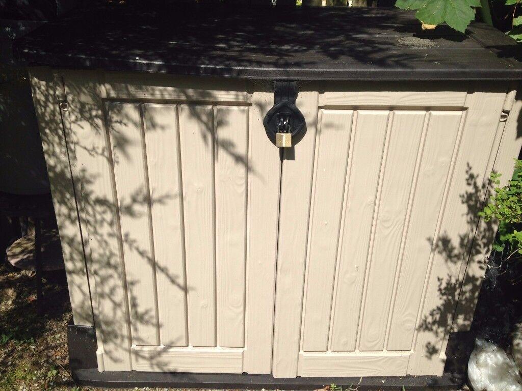 Garden Storage Bunker