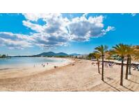 Mallorca beach front apartment for rent