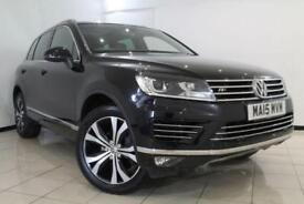2015 15 VOLKSWAGEN TOUAREG 3.0 V6 R-LINE TDI BLUEMOTION TECHNOLOGY 5DR AUTOMATIC