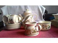 Marks and Spencer Autumn Leaves tea set.