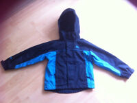 Trespass coat boys age 5-6 waterproof