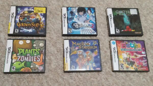 Nintendo DS and Game Boy Advanced Games NEW PRICES