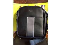 Ted Baker men's small black flight bag (RRP £59 sell £29.99)