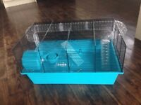 Hamster Cage, brand new. Includes outside connecting tunnel.