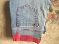 Ladies designer Angel jeans