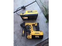 36v dewalt hammer drill sds