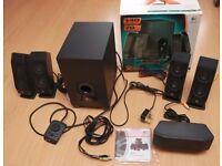 Logitech X-540 5.1 surround home cinema/computer speakers
