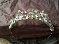 Wedding sworkoski crystal tiara