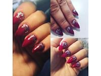 Nail technician acrylic nails / gel polish