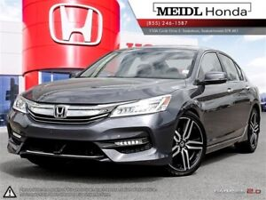 2017 Honda Accord Sedan Touring w/ Extended Warranty