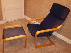 IKEA Poang Chair and Footstool *Delivery Available*