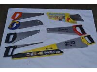 8 saw blades - rarely used.