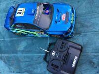 Tamiya Subaru Nitro Car Drift 1/10 Çar